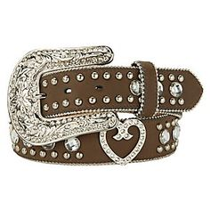 Blazin Roxx Ladies Rhinestone Western Belt ----- I NEED THIS!!!