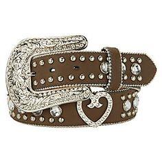 Blazin Roxx Ladies Rhinestone Western Belt ----- I NEED THIS!!!
