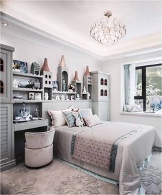This pin was discovered by 徐晓杭. discover (and save!) your own pins on pinte Kids Bedroom Designs, Kids Room Design, Girl Room, Girls Bedroom, Creative Kids Rooms, Childrens Bedroom Decor, Daughters Room, Baby Boy Rooms, Bed Furniture