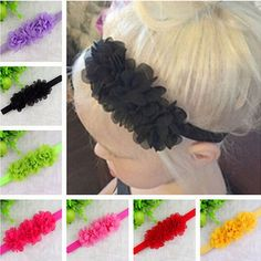 TWDVS Baby Flower Headband Newborn Hair Bands Baby Bows For Christmas gift cheap Hair Acessorios Para Cabelo w--001