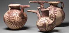 ceramics characteristic of Tepe Sialk, Iran. 2nd cty BC