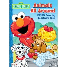 Treat your little one to a Sesame Street Coloring & Activity Book. This activity book features pages full Elmo Big Bird Grover and more. Your child will love coloring and completing the 32 two-sided activity sheets of mazes and word searches. When they're done coloring kids can easily tear out the pages to display on a wall or refrigerator. The activity book fits perfectly in a backpack and makes a great birthday party favor. Sesame Street Coloring & Activity Book product details:  7 3-4