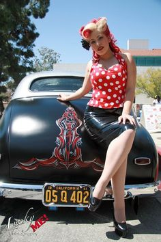 Pity, that amature hot rod pin up girls that