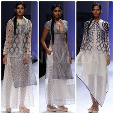 Rahul Mishra collection at WIFW SS14