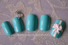 Japanese 3D Nail Art Otherwise Engaged by Nevertoomuchglitter, $32.00