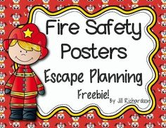 I hope this freebie will help your little ones stay Fire Safety Escape Planning Posters! Kindergarten Social Studies, Kindergarten Freebies, Kindergarten Teachers, Elementary Teacher, Upper Elementary, Elementary Education, Fire Safety Week, Fire Prevention Week, Thing 1