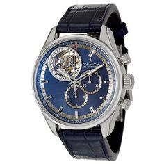 Zenith El Primero Tourbillon Men's Automatic Watch 03-2051-4035-51-C715 - http://tourbillonwatches.biz/product/zenith-el-primero-tourbillon-mens-automatic-watch-03-2051-4035-51-c715
