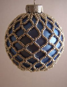 beaded christmas ornaments free patterns | Beaded Ornament Patterns                                                                                                                                                     More