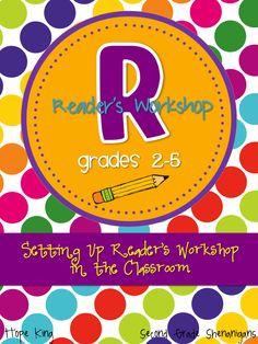 2nd Grade Shenanigans: Tools for setting up a Reader's Workshop