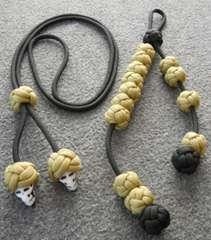 celtic button knot: one strand knot