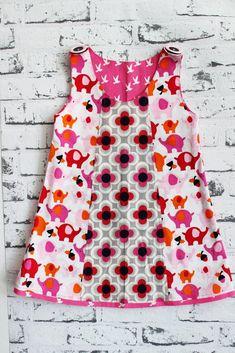 Kleid nähen - Selbermacher-Kleidchen Schnittmuster2