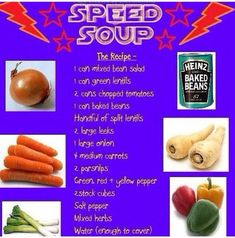 Speed soup at slimming world