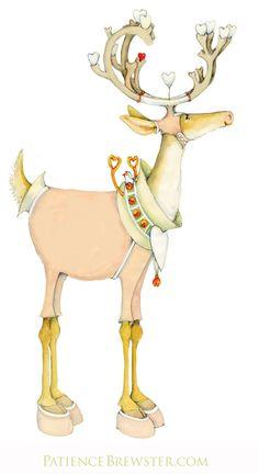 Love is in the air - Dash Away Cupid Reindeer.