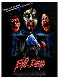 Evil Dead Re Edit Poster