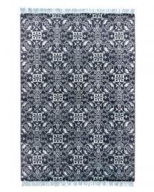 Rug Star. I am Classic. Hira No. 01 Light Blue Lead. Silk Fringes. 60% Tibetan highland wool 40% Chinese silk . 170 cm x 240 cm