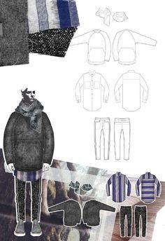 Fashion Sketchbook - fashion design drawings; graduate fashion portfolio // Georgia Mottershead