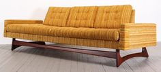 Mid Century Modern Sofa, Model 2408 by Adrian Pearsall for Craft Associates #AdrianPearsall