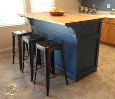 DIY kitchen island: Ana White.com