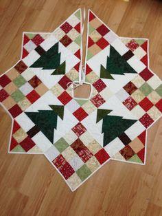 Falda del árbol de Navidad