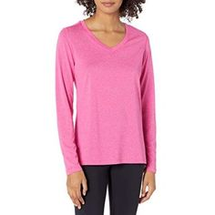 Amazon has the Hanes Women's Sport Cool Dri Performance Long Sleeve V-Neck Tee, Amaranth Heathermarked down from $15.00 to $8.00 and it ships for free with your Prime Membership or any $25 purchase. That is 47% off the retail price! Cool DRI technology dries fabric faster for maximum comfort Cool comfort fabric rapidly wicks away…