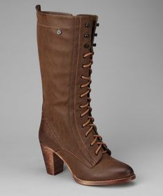 Take a look at this Brown Sandra Boot by Chocolate Hues: Apparel & Accessories on #zulily today!