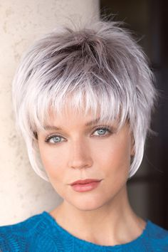 Crazy Tips: Brunette Hairstyles Haircuts older women hairstyles overweight.Braided Hairstyles Bun older women hairstyles carmen dell'orefice. Short Grey Hair, Short Hair With Layers, Short Hair Cuts For Women, Short Wavy, Modern Short Hair, Short Hair Over 60, Grey Hair Styles For Women, Choppy Layers, Haircut Styles For Women