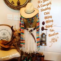 Oh Ya! It is just a Cowgirl Shabby Chic Bling Bling Thing alright! Just say'n The Cattle Queen a.k.a. Boss Lady!