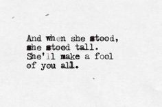 Slow It Down - The Lumineers. I would love to paint this on a canvas and put it on my daughter's wall when she is a baby. I love this lyric and it can means so much.
