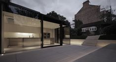 Rear House Extension, Garden Design / LBMV Architects