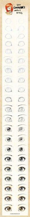 Drawing eyes: Disney style