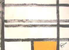 """""""Sem nome"""" acrílica sobre papel 0,32 x 0,24 2008 M. Sigrini Miranda"""