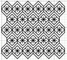 imaginesque.blogspot.com.br, free blackwork fill pattern