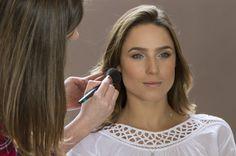 Making Of: Preview Verão 2014 Marcia Mello. #verao #maquiagem #makeup #marciamello #moda #fashion