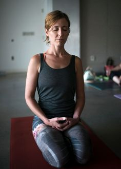 "I use the cue, ""breathe from your belly"" almost every time I teach a yoga class. Diaphragmatic breathing or belly breathing is a powerful way to trigger the parasympathetic nervous system and create a sense of calm. When you allow the breath to move beyond its normal shallow range, you directly affe    yoga. pranayama."