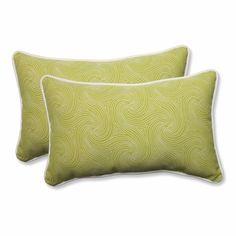Nabil Kiwi Rectangular Throw Pillow (Set of 2)