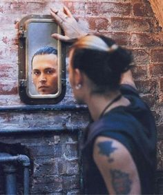 Shared by Denise Messina. Find images and videos about johnny depp on We Heart It - the app to get lost in what you love. Tim Burton, Johnny Depp Tattoos, Here's Johnny, Johnny Depp Movies, Chef D Oeuvre, Man Alive, My Guy, Man Crush, My Boyfriend