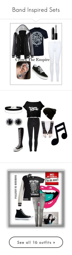 """Band Inspired Sets"" by foxybear on Polyvore featuring Miss Selfridge, Vans, NARS Cosmetics, River Island, Converse, Paul Smith, Devoted, Marc Jacobs, Boohoo and Columbia"