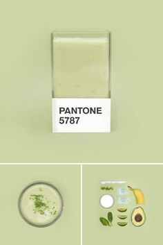 Color + culinary themes collide for Pantone smoothie series Pantone Colour Palettes, Pantone Color, Pantone Green, Look Wallpaper, Color Studies, Colour Board, Color Themes, Color Combos, Color Inspiration