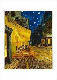 Vincent van Gogh - The Café Terrace at Night