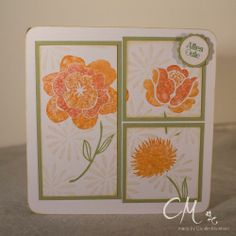 Stampingirls Smart Saturday - Challenge #32, Karte zum Geburtstag, Stempelsets Simple Stems & Famose Fähnchen, Stampin' Up!