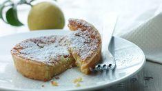 Italian Lemon Pie (Recipe in Danish) Italianske citronkager Sweet Pie, Sweet Tarts, Lemon Pie Recipe, Danish Food, Food Cakes, Baking Cakes, Pie Dessert, Occasion Cakes, Cakes And More