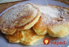 Vynikajúce lievance s jablkami, ktoré sú úžasne nadýchané, vláčne a nejde do nich žiadne droždie. Perfektná večera, alebo sladké raňajky pre celú rodinu! Always Hungry, Kefir, What To Cook, Cakes And More, Crepes, Pancakes, Food And Drink, Menu, Yummy Food