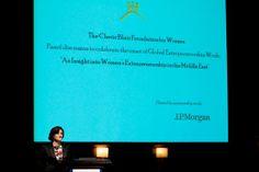 Cherie Blair on women's entrepreneurship in the Middle East
