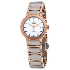 Rado White Automatic Watch #R30183013 (Women Watch)