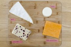 washi tape cheese board