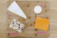 washi tape cheese board
