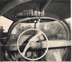 """Sigvard Berggrens """"Future"""" Car, Sweden 1951"""