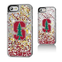 Stanford Gold Glitter iPhone 7 Case NCAA  http://allstarsportsfan.com/product/stanford-gold-glitter-iphone-7-case-ncaa/  Officially Licensed by the NCAA Designed and printed in Portland, OR USA Solid acyrlic body with floating glitter back.