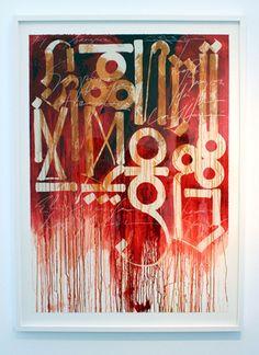 Retna's callygraphy
