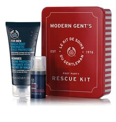 Modern Gent's Post-Party Rescue Kit